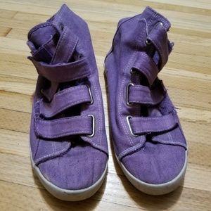 Purple hightops